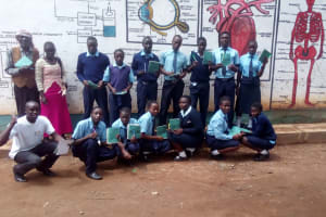 The Water Project: Esibeye Secondary School -  Training Participants