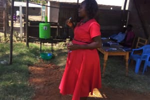The Water Project: Shibale Secondary School -  Oral Hygiene Training