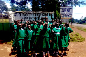 The Water Project: Erusui Girls Primary School -  School Entrance