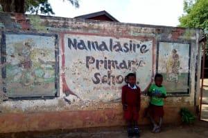 The Water Project: Namalasire Primary School -  School Gate