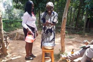 The Water Project: Itukhula Community, Lipala Spring -  Handwashing Training