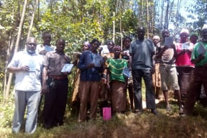 The Water Project: Maganyi Community, Bebei Spring -  Training Group