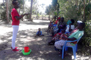 The Water Project: Musango Community, Dawi Spring -  Training