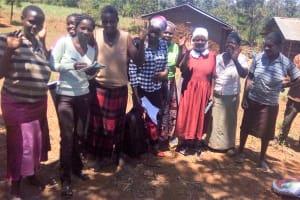 The Water Project: Sharambatsa Community, Mihako Spring -  Training Participants