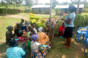 The Water Project: Esembe Community, Chera Spring -  Training