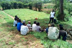 The Water Project: Ikonyero Community, Jesse Spring -  Training