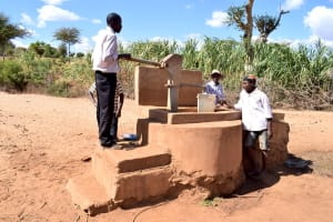 The Water Project: Karuli Community D -  Previous Water System