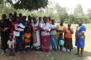 The Water Project: Shitungu Community, Omar Rashid Spring -  Participants