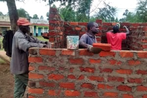 The Water Project: Shamalago Primary School -  Latrine Construction