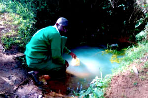 The Water Project: Erusui Girls Primary School -  Current Water Source