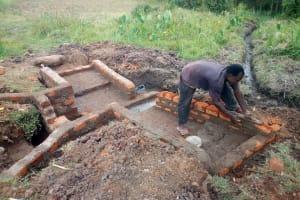 The Water Project: Shibuli Community, Khamala Spring -  Spring Construction