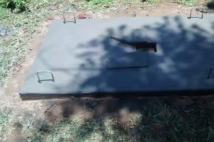 The Water Project: Ivulugulu Community, Ishangwela Spring -  Sanitation Platform