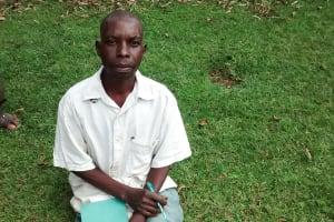 The Water Project: Bumavi Community, Esther Spring -  Chairman John Jiseve