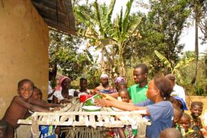 The Water Project: Sanya Community -  Dish Rack Training