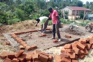 The Water Project: Esibeye Secondary School -  Latrine Construction