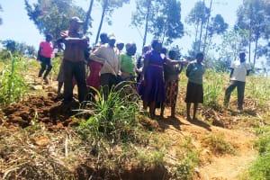 The Water Project: Sharambatsa Community, Mihako Spring -  Onsite Training