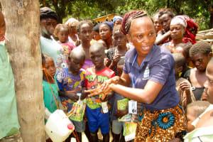 The Water Project: Kolia Community -  Handwashing Training