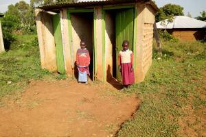 The Water Project: Namalasire Primary School -  Latrines