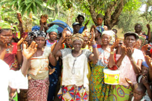 The Water Project: Sanya Community -  Breaking The First Ground