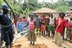 The Water Project: Kipolo Community -  Breaking First Ground
