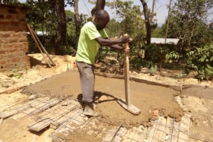 The Water Project: Muyere Secondary School -  Latrine Construction