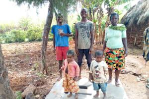 The Water Project: Ataku Community, Ataku Spring -  Sanitation Platform