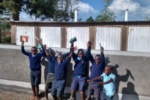 The Water Project: Shamalago Primary School -  New Latrines