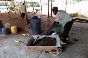 The Water Project: Imbale Secondary School -  Tank Construction