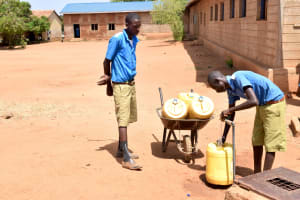 The Water Project: Kyulungwa Primary School -  Water Contingent On The Season