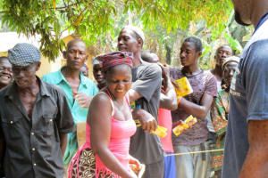 The Water Project: Kolia Community -  Breaking First Ground