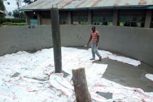 The Water Project: Malimili Secondary School -  Tank Construction