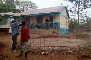 The Water Project: Esibeye Secondary School -  Tank Construction