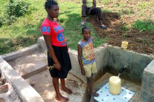 The Water Project: Shibuli Community, Khamala Spring -  Clean Water