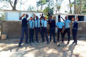The Water Project: Muyere Secondary School -  New Latrines