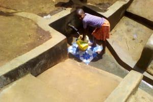 The Water Project: Mwichina Community, Mwichina Spring -  Clean Water