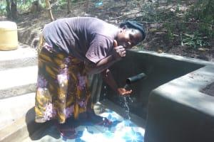 The Water Project: Shiyunzu Community, Imbukwa Spring -  Clean Water