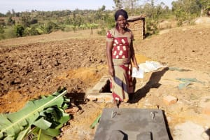 The Water Project: Musango Community, Ham Mwenje Spring -  Sanitation Platform