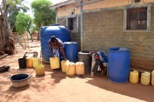 The Water Project: Karuli Community E -  Muimi Water Storage