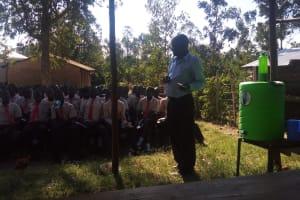 The Water Project: Shibale Secondary School -  Mr Andrew Buluma