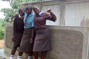The Water Project: Lihanda Secondary School -  New Latrines