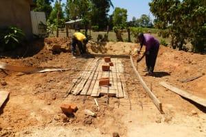The Water Project: Bushili Secondary School -  Latrine Construction