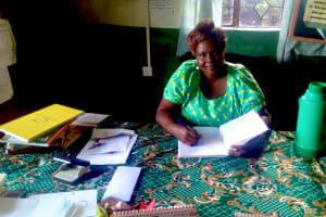 The Water Project: Erusui Girls Primary School -  Headteacher