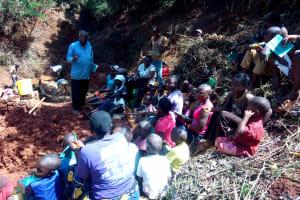 The Water Project: Shilakaya Community, Shanamwevo Spring -  Training