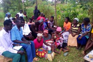 The Water Project: Mwichina Community, Mwichina Spring -  Training