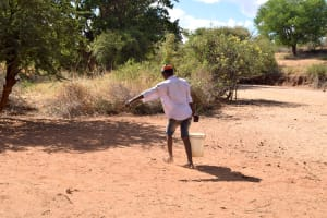 The Water Project: Karuli Community D -  Carrying Water