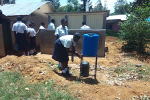 The Water Project: Malimili Secondary School -  New Latrines