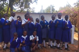 The Water Project: Mumias Complex Primary School -  New Latrines