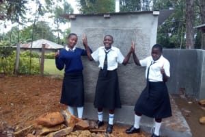 The Water Project: Shanjero Secondary School -  New Latrines