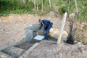 The Water Project: Shihingo Community, Mulambala Spring -  Clean Water