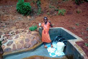 The Water Project: Shilakaya Community, Shanamwevo Spring -  Clean Water